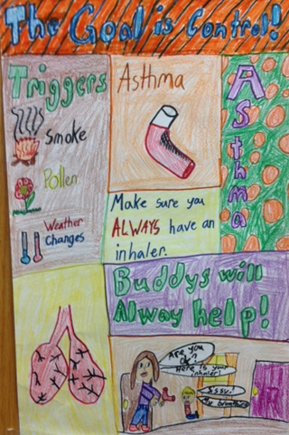 2014 Asthma Poster Art Contest | Albemarle Regional Health Services